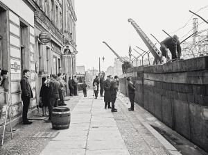 Mauerbau 1961 / Sebastianstra§e