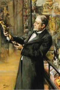 Émile_Guimet_in_his_museum,_by_Ferdinand_Jean_Luigini,_1898